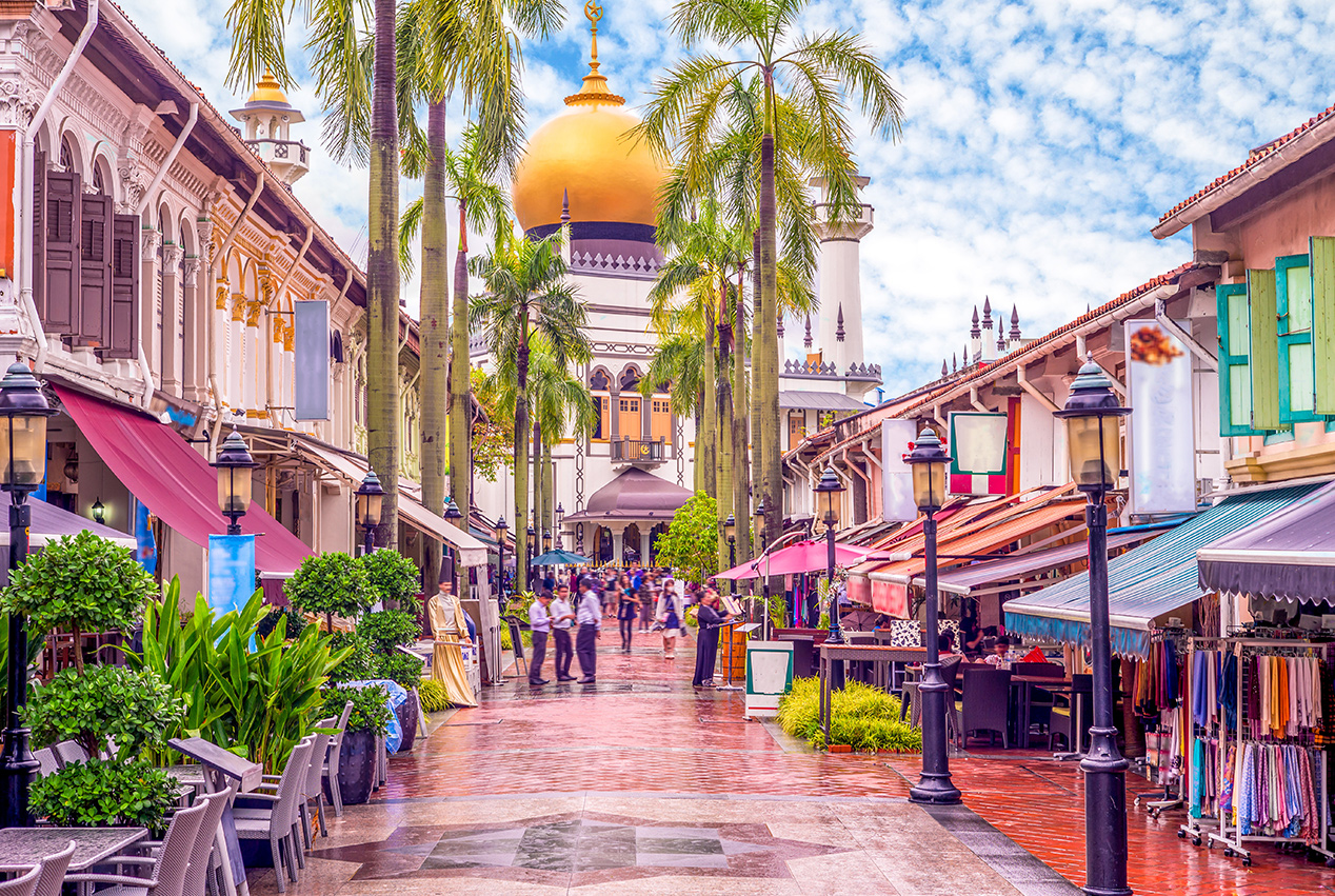 CHINATOWN, LITTLE INDIA & ARAB STREETS