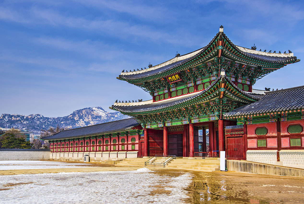 THE GYEONGBOKGUNG PALACE
