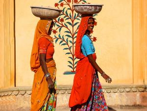 Colorful Indian Women